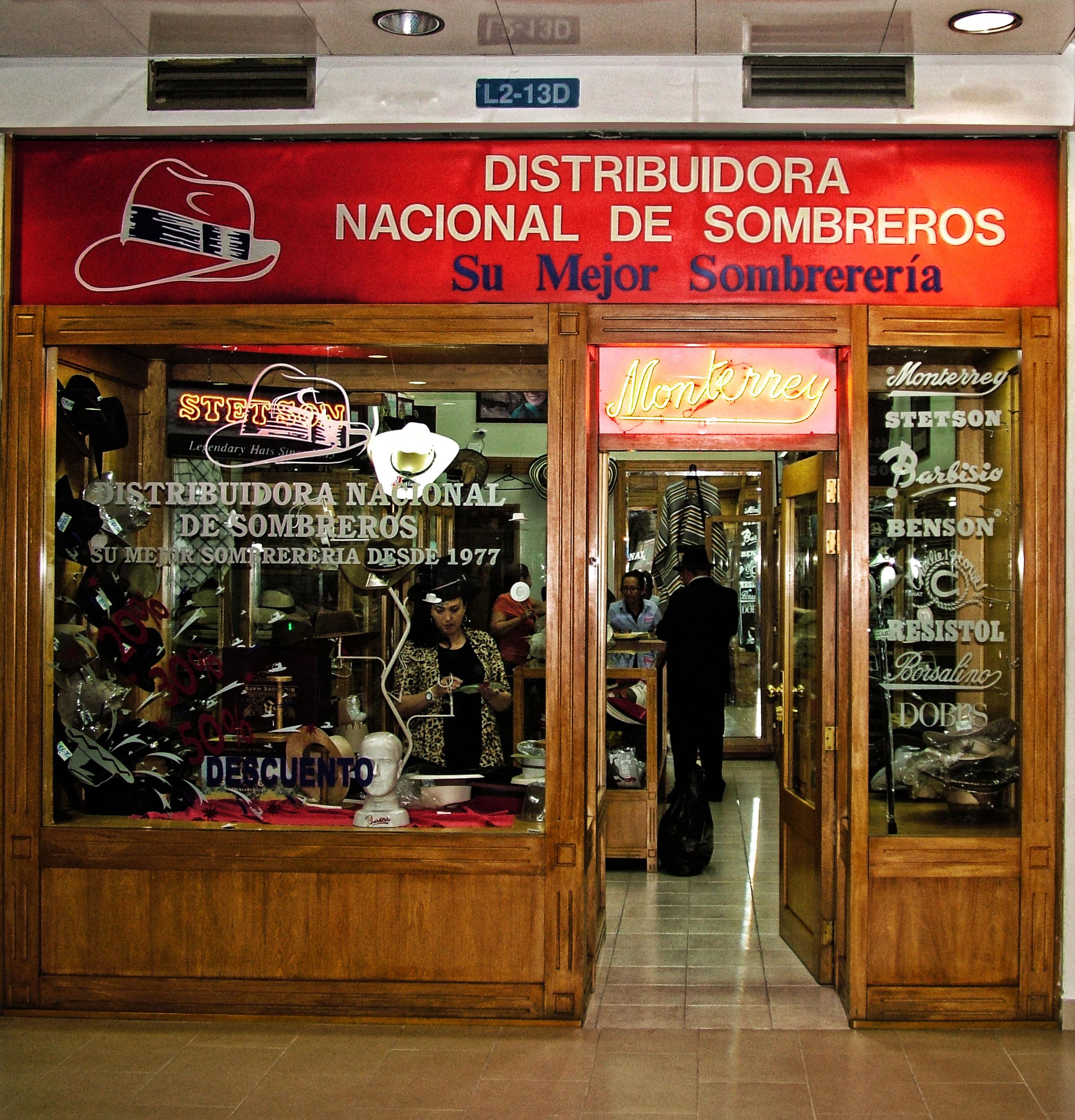 Almacenes - Distribuidora Nacional de Sombreros - Dinalsom 5fa5dd44cdd